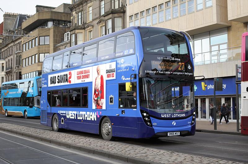 33447 SN66WGZ, Edinburgh 11/11/2016