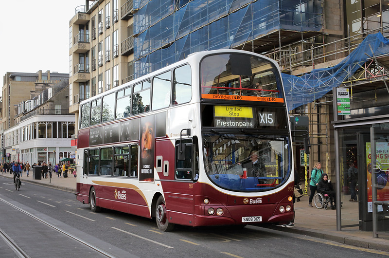 903 SN08BXS, Edinburgh 11/11/2016