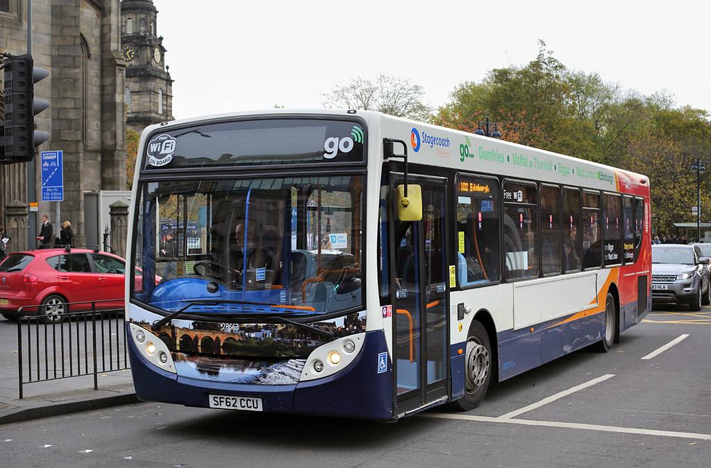 28663 SF62CCU, Edinburgh 11/11/2016