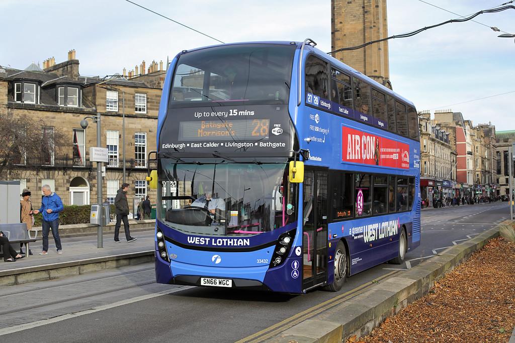 33432 SN66WGC, Edinburgh 11/11/2016
