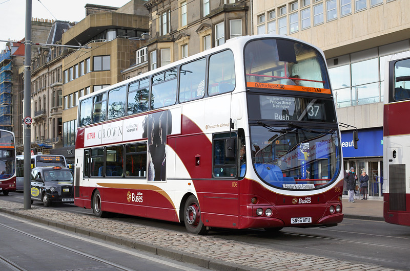 806 SN56AFU, Edinburgh 11/11/2016