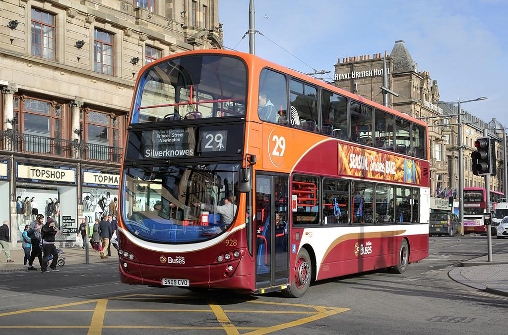 928 SN09CVO, Edinburgh 11/11/2016