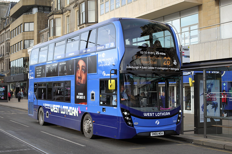 33431 SN66WGA, Edinburgh 11/11/2016