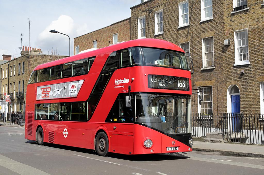 LT553 LTZ1553, Camden Town 12/4/2016