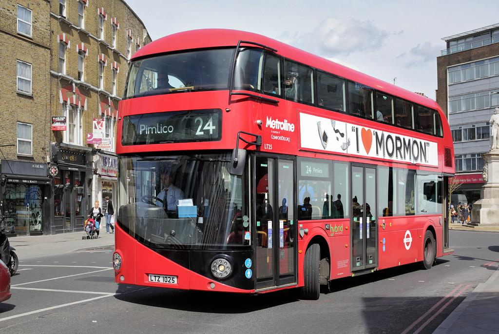LT25 LTZ1025, Mornington Crescent 12/4/2016