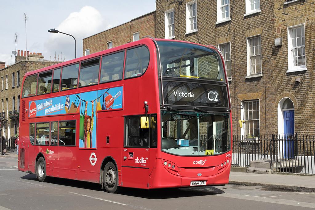 2485 SN64OFL, Camden Town 12/4/2016