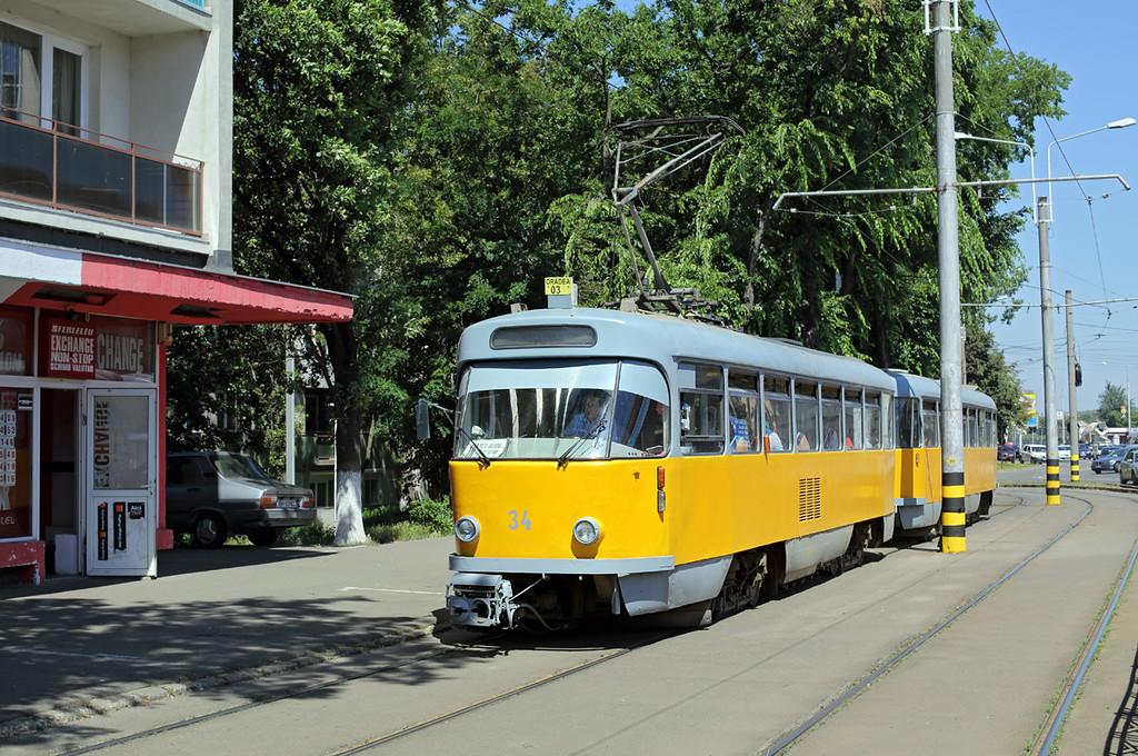 34 and 134, Gara Centrală 12/7/2016