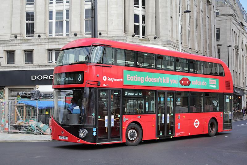 LT415 LTZ1415, Tottenham Court Road 12/9/2016