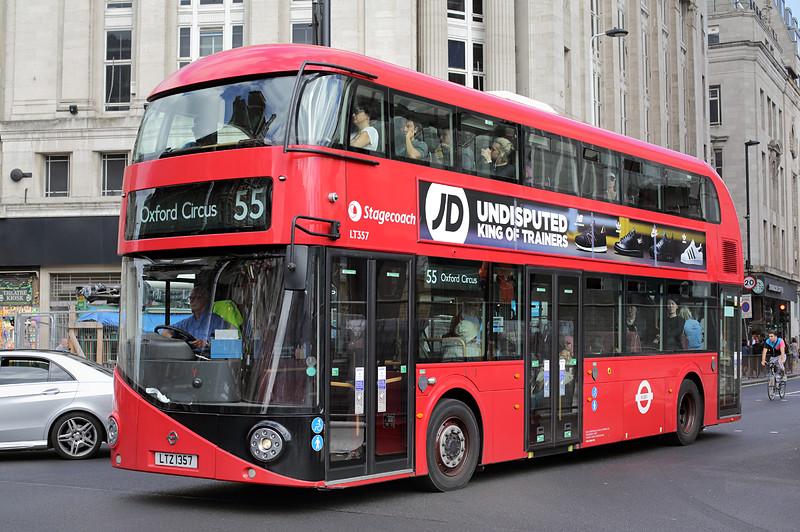 LT357 LTZ1357, Tottenham Court Road 12/9/2016