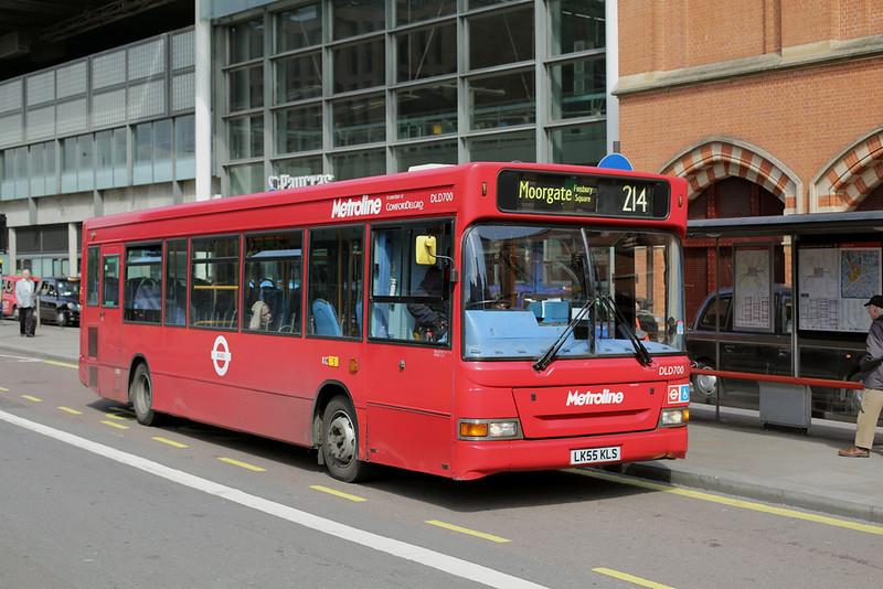 DLD700 LK55KLS, St Pancras 13/4/2016