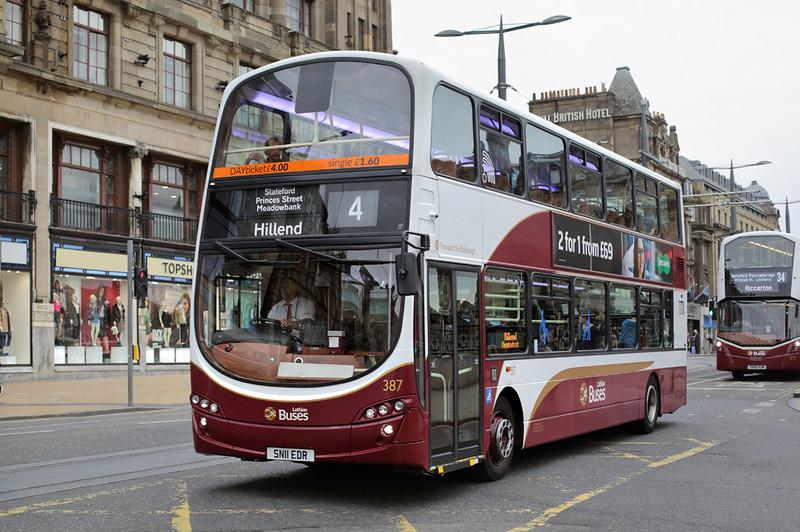 387 SN11EDR, Edinburgh 13/9/2016