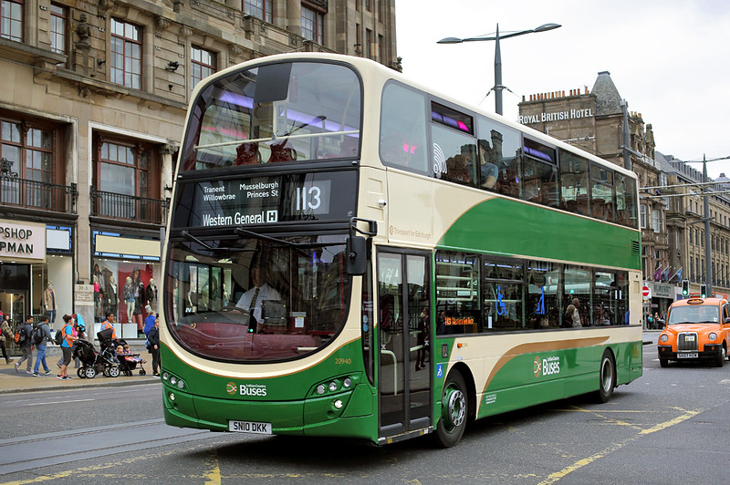 20940 SN10DKK, Edinburgh 13/9/2016