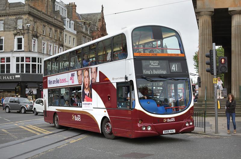 753 SN56AAJ, Edinburgh 13/9/2016