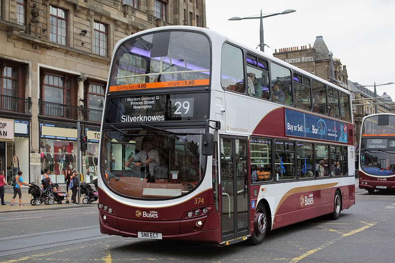 374 SN11ECT, Edinburgh 13/9/2016