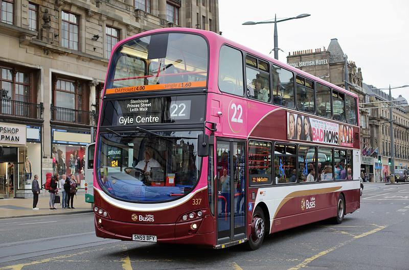 337 SN59BFY, Edinburgh 13/9/2016