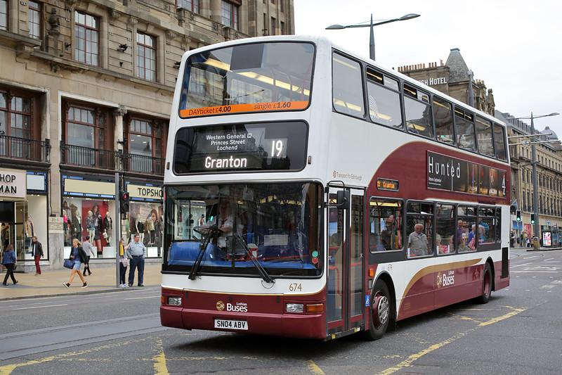 674 SN04ABV, Edinburgh 13/9/2016