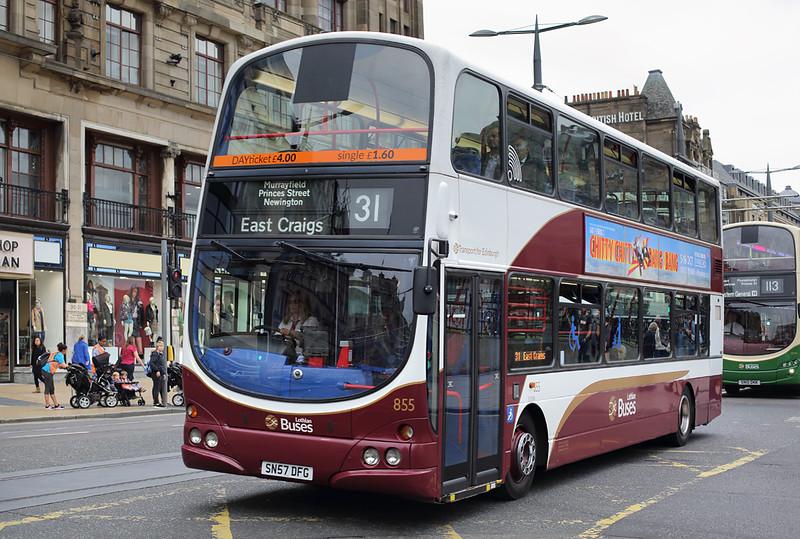 855 SN57DFG, Edinburgh 13/9/2016