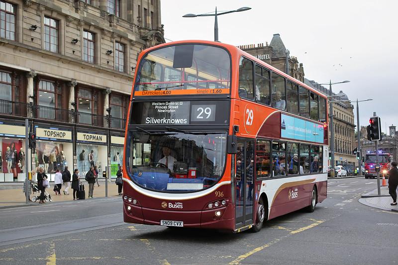 936 SN09CVX, Edinburgh 13/9/2016