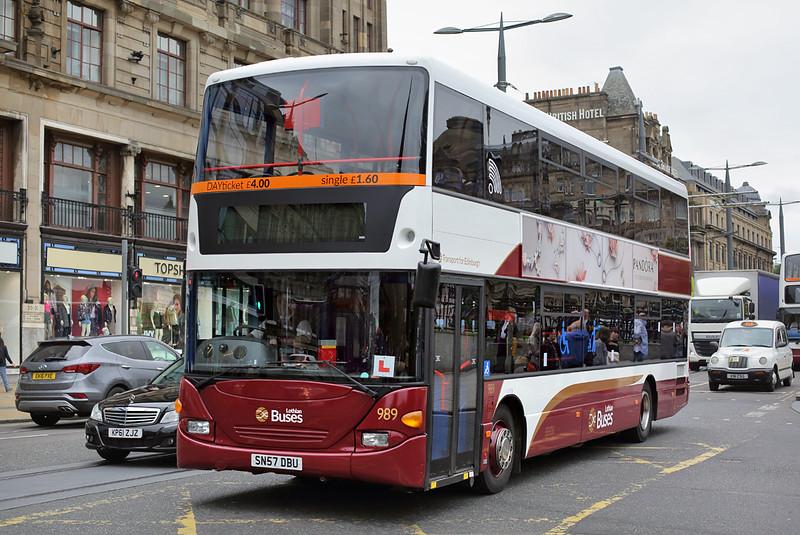 989 SN57DBU, Edinburgh 13/9/2016