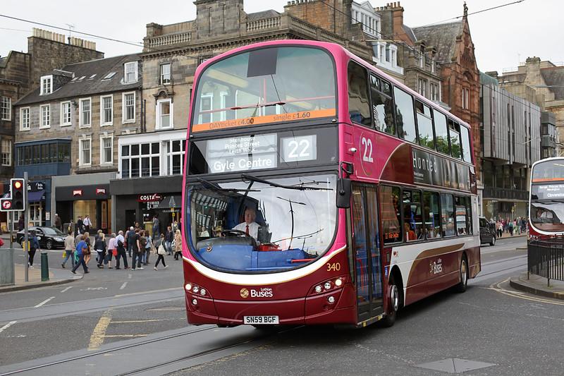 340 SN59BGF, Edinburgh 13/9/2016