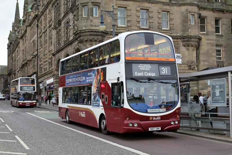 873 SN57GNK, Edinburgh 13/9/2016