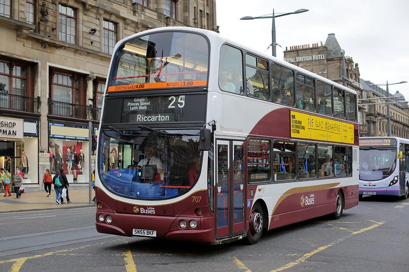 707 SN55BKF, Edinburgh 13/9/2016