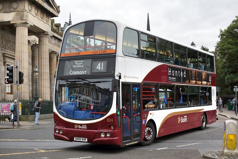 824 SN56AHK, Edinburgh 13/9/2016