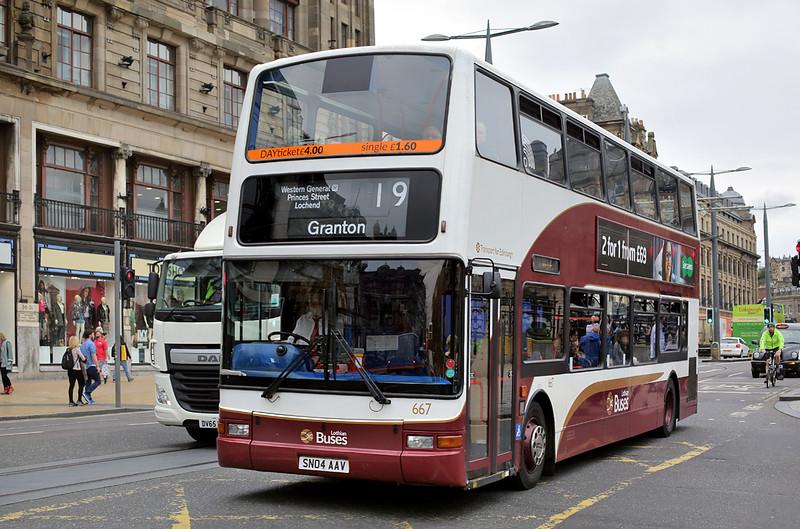 667 SN04AAV, Edinburgh 13/9/2016