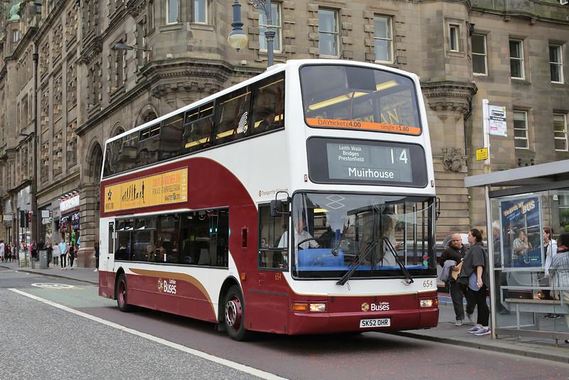 654 SK52OHR, Edinburgh 13/9/2016