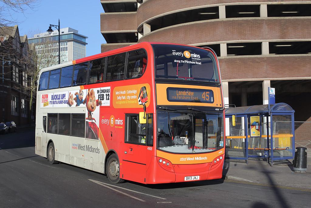 4908 BX13JWJ, Birmingham 15/2/2016