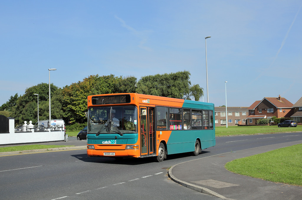 W468UAG, Anchorsholme 15/8/2016