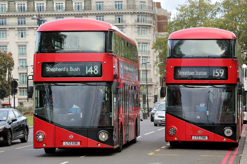 LT138 LTZ1138 and LT788 LTZ1788, Marble Arch 15/10/2016