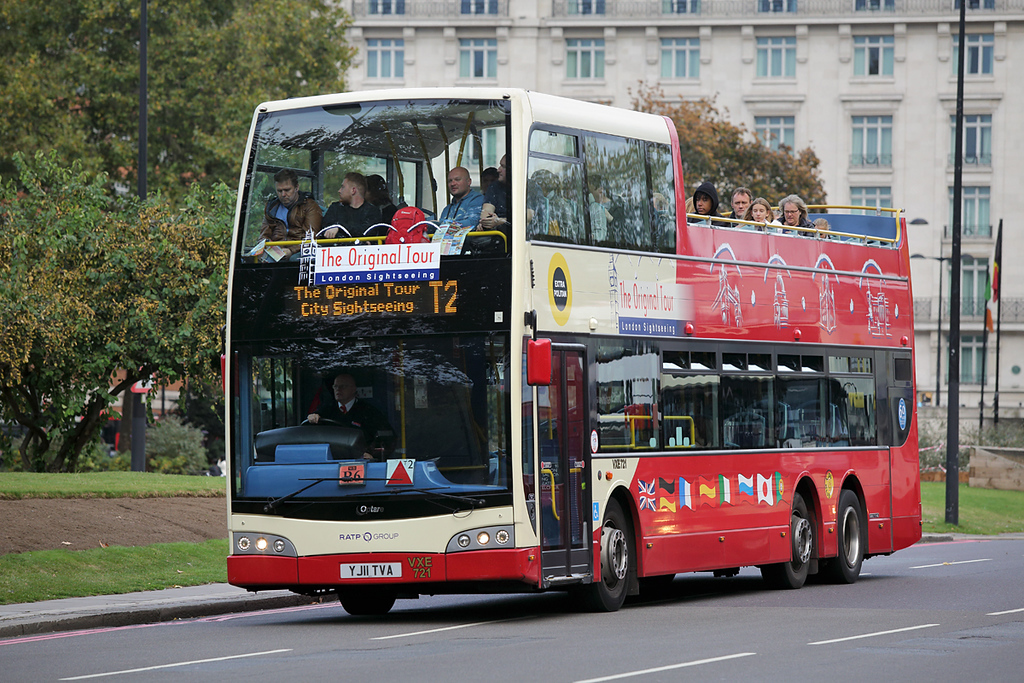 VXE721 YJ11TVA, Marble Arch 15/10/2016