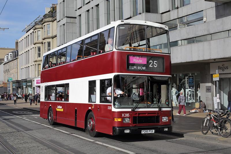 285 P285PSX, Edinburgh 16/9/2016