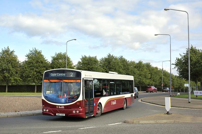 155 SN57DCX, Edinburgh Park 16/9/2016
