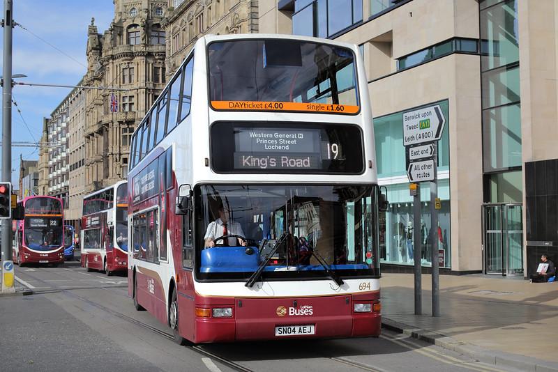 694 SN04AEJ, Edinburgh 16/9/2016