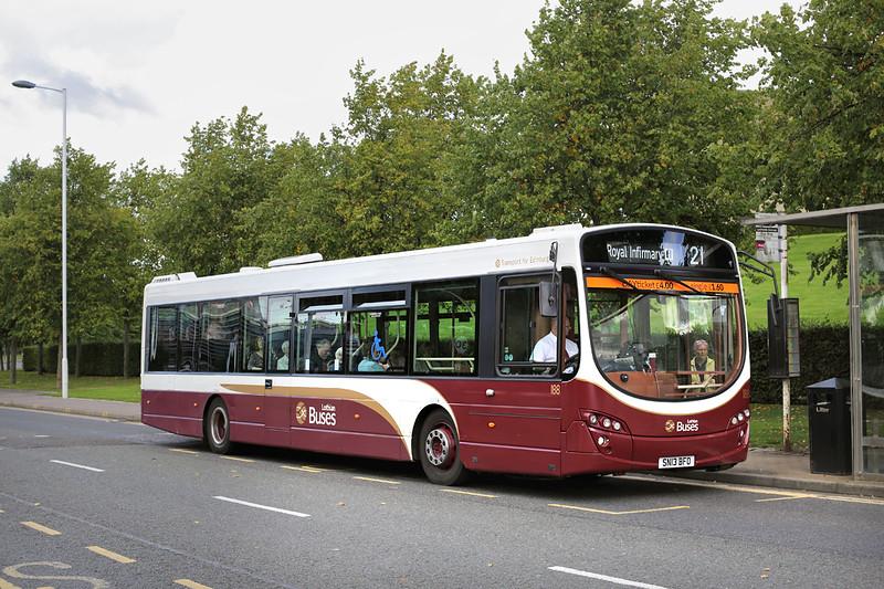 188 SN13BFO, Edinburgh Park 16/9/2016