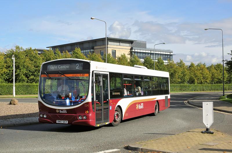 154 SN57DCV, Edinburgh Park 16/9/2016