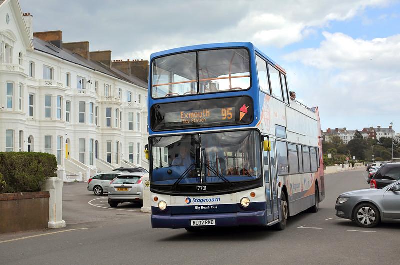 17701 ML02RWO, Exmouth 17/4/2016