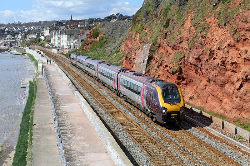 221132 Dawlish 17/4/2016<br /> 1S47 1025 Plymouth-Edinburgh