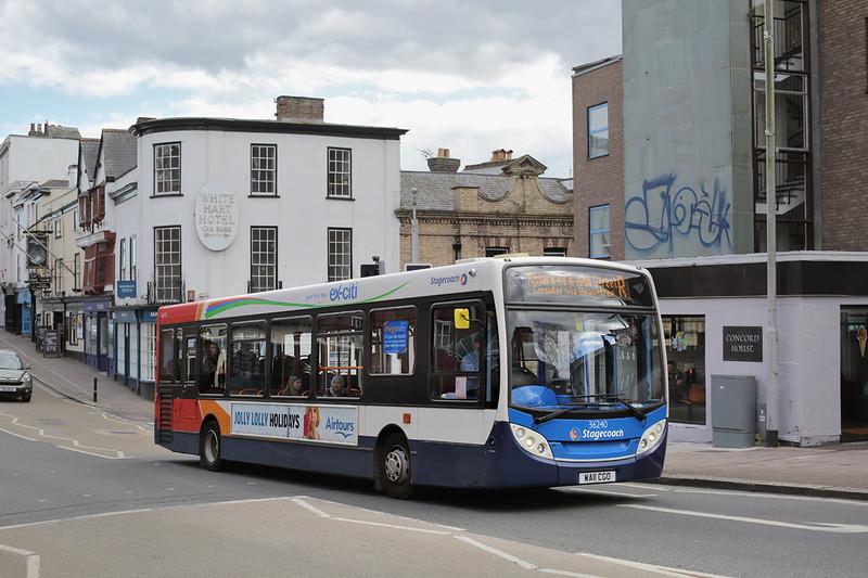 36240 WA11CGO, Exeter 17/4/2016