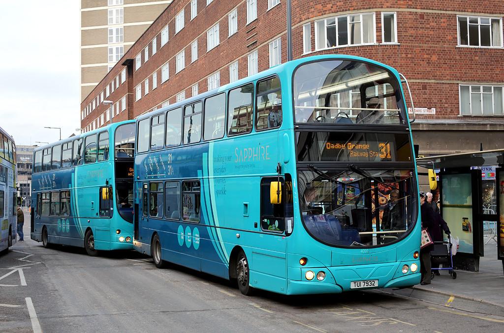 4002 TUI7932, Leicester 18/1/2016
