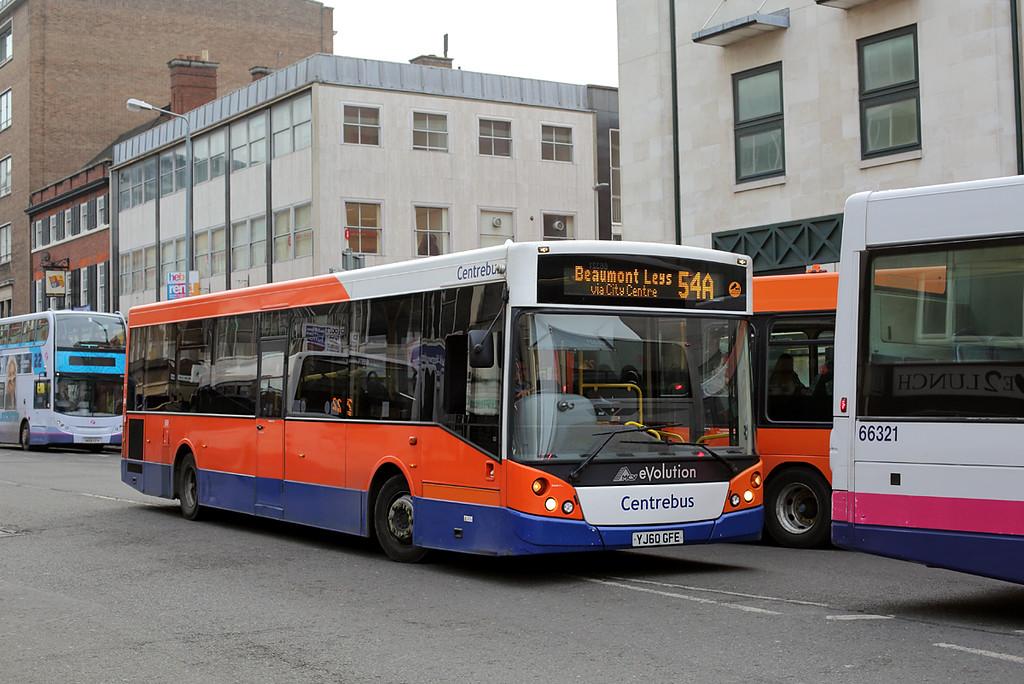 660 YJ60GFE, Leicester 18/1/2016