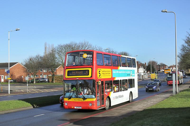 4083 V83MOA, West Bromwich 18/2/2016