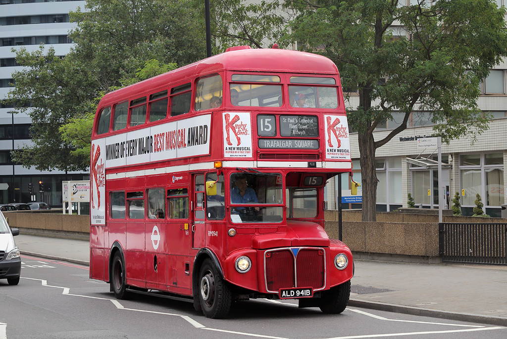 RM1941 ALD941B, Westminster Bridge 18/8/2016