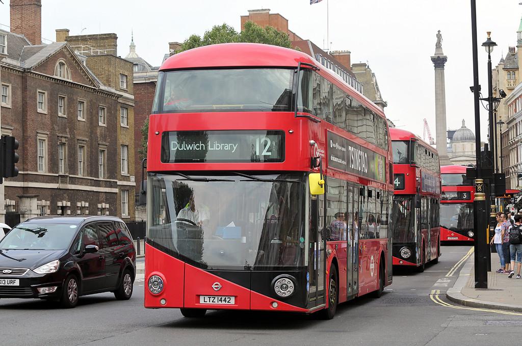 LT442 LTZ1442, Whitehall 18/8/2016