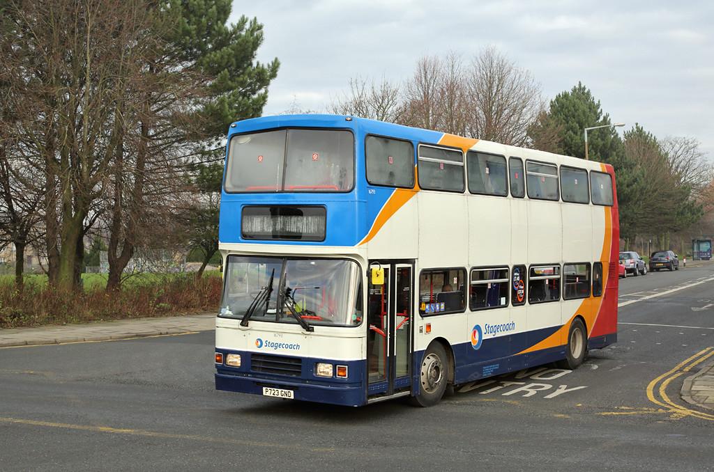 16793 P723GND, Lancaster 19/1/2016