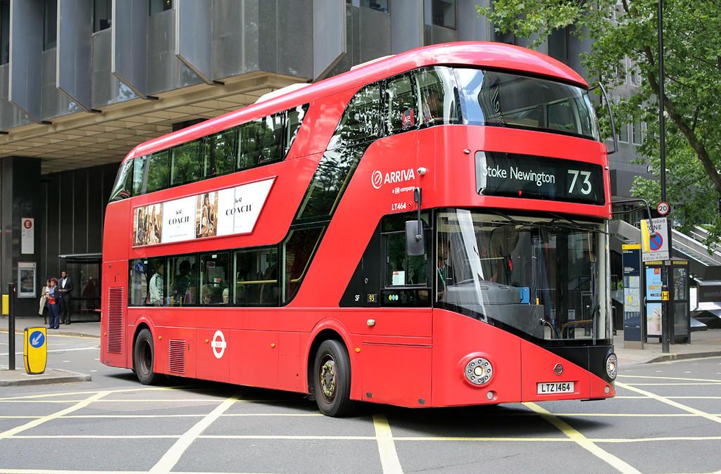 LT464 LTZ1464, Euston 21/6/2016
