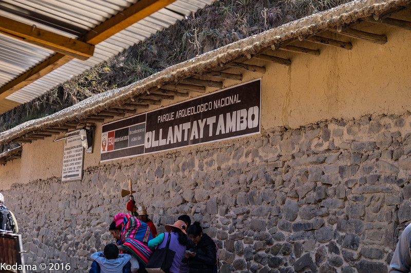 Ollantaytambo - Another impressive Incan preserved archeological site.