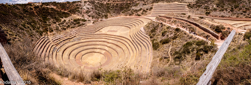 Moray - an archeological preserve of an Incan site.  One theory is that these terraced bowls were used by Incans to test grow crops in differing microclimates.